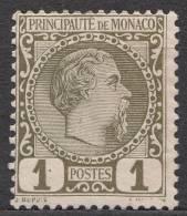 Monaco 1885 Mi#1 Mint Hinged