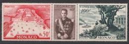 Monaco 1956 Mi#533-536 Mint Never Hinged Triptique