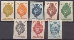 Liechtenstein 1920 Mi#17-24, Mint Hinged