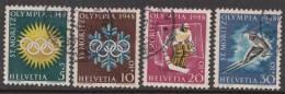 Switzerland 1948 Mi#492-495 Used