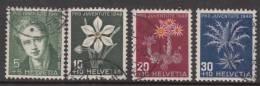 Switzerland 1946 Mi#475-478 Used