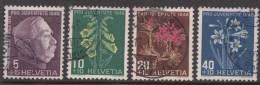 Switzerland 1948 Mi#514-517 Used