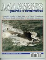 MGC34 - MARINES Guerre - Commerce - Sommaire Détaillé Sur 2ème Photo - Livres, BD, Revues