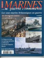 MGC58 - MARINES Guerre - Commerce - Sommaire Détaillé Sur 2ème Photo - Livres, BD, Revues