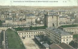Panorama De VINCENNES Et De MONTREUIL SOUS BOIS - Vincennes