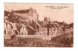80 - MONTDIDIER - Rue Saint Martin Et Palais De Justice - Montdidier