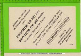 BUVARD: PROCHIM CR 301/ CR302 Pour Conserver Les Pommes De Terre - Agriculture