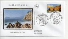 B - Enveloppe Premier 1er Jour FDC First Day Cover 2006 La France à Voir Les Calanques De Piana - FDC