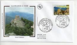 B - Enveloppe Premier 1er Jour FDC First Day Cover La France à Voir Tours Catalanes - FDC