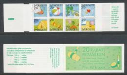 Sweden 1989 Facit #: H395. Discount Stamps XI - Summer Pleasures, MHN (**) - 1981-..