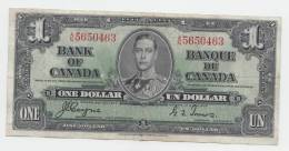 Canada 1 Dollar 1937 Coyne-Towers VF P 58e 58 E - Canada