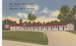 North Carolina Sanford Sir Walter Motor Court
