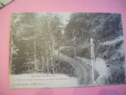 88 - LE HONNECK - RAMPE DU TRAM ELECTRIQUE - éd Ad W (croix De Lorraine) - France