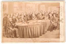 GROUPE De DEPUTES De La SEINE Elections De 1881 (Photo. Appert) - Anciennes (Av. 1900)