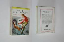 MICHEL MENE L ENQUETE Georges Bayard  BIBLIOTHEQUE VERTE - Bibliotheque Verte