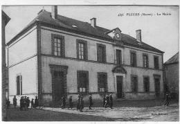 CPA  Animée   PLEURS La Mairie - Zonder Classificatie