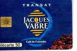 FRANCE TELECOM FRANCIA CHIP JACQUES VABRE CAFE' TEMATICA THEMATIC CIBO FOOD Télécarte Phonecard Telefonkart - Francia