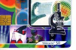 FRANCE TELECOM FRANCIA CHIP  LA MEDECINE TEMATICA THEMATIC MEDICINA Télécarte Phonecard Telefonkart - Francia