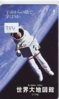 Télécarte Japon ESPACE (284) Phonecard JAPAN * TK * SPACE SHUTTLE * Rakete * Rocket *Fusée* NASDA * LAUNCHING * - Espacio