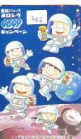Télécarte Japon ESPACE (288) Phonecard JAPAN * TK * SPACE SHUTTLE * Rakete * Rocket *Fusée* NASDA * LAUNCHING * - Spazio