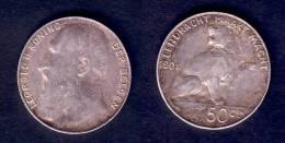 50 CENTIMES 1901 TTB - 1865-1909: Leopold II