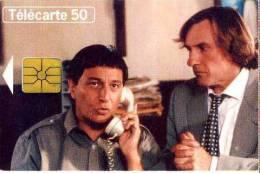 FRANCE TELECOM FRANCIA CHIP  DEPARDIEU TEMATICA THEMATIC CINEMA MOVIES FILM Télécarte Phonecard Telefonkart - Francia