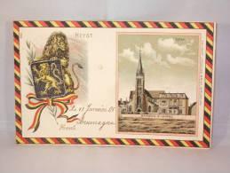 Heyst. L'Eglise. Brasseries St.Georges. 1905. - Heist