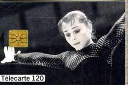FRANCE TELECOM FRANCIA CHIP GYMNASTES TEMATICA THEMATIC GINNASTICA SPORT Télécarte Phonecard Telefonkart - Francia