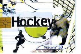 FRANCE TELECOM FRANCIA CHIP HOCKEY TEMATICA THEMATIC SPORT Télécarte Phonecard Telefonkart - Francia