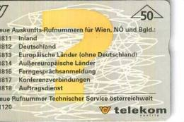 AUSTRIA TELEKOM TEMATICA THEMATIC COMUNICAZIONI Télécarte Phonecard Telefonkart - Austria