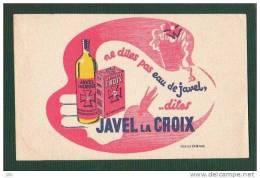 BUVARD - Javel La Croix - Création OPIM Paris - Buvards, Protège-cahiers Illustrés