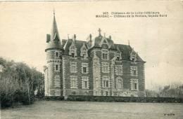 CPA 44 MARSAC CHATEAU DE LA RIALLAIS FAÇADE NORD - France