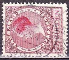 1926-1927 Koningin Wilhelmina Veth 2½ Gulden Rood NVPH 164 A Met Afstempeling AMSTERDAM AMSTEL 5 - Poststempels/ Marcofilie