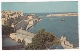1968 MALTA THE GRAND HARBOUR VALLETTA - Malte