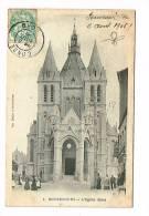 BONSECOURS ( Nord ? )  L'Église .... ( Cachet Départ Condé -Nord - éditeur à Valenciennes ) - Other Municipalities