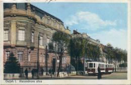 Osijek - Alexandrova Ulica, 1929. - Croatia
