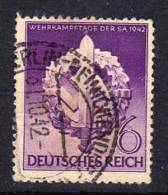 Deutsches Reich 818 O - Oblitérés