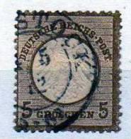 Deutsches Reich 6 O - Oblitérés