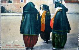Albania, Shkodra, Catholic Women, National Costumes, Katolische Albanerinnen, Frauen, Nationaltracht, Femmes, - Albania