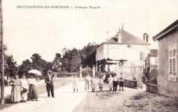 SAVONNIERES-EN-PERTHOIS - Château Mazelin - Carte Animée - France