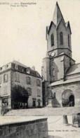 Dépt 15 - NEUVÉGLISE - La Place De L'Église - Hôtel Du Midi - Otros Municipios