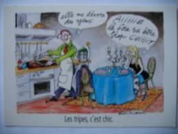 Claire BRETECHER Illustrateur Les Tripes C'est Chic Recette Cuisine - Andere Illustrators