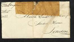 GB Ireland 1836 Folded Letter Dublin To London (V195) - ...-1840 Precursores