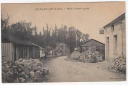 Le Catelet - Rue Quincampoix - Edit. Merelle - Envoyée à Sart-Dames-Avelines, Belgique - Autres Communes