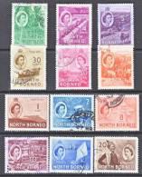 North Borneo 261-72   *  (o) - North Borneo (...-1963)
