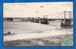 44-345 - LOIRE ATLANTIQUE - ANCENIS - Le Pont Suspendu - Ancenis