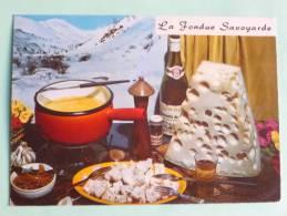 LA FONDUE SAVOYARDE - Recettes (cuisine)