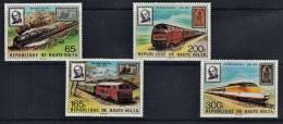 B0118 Upper Volta 1979,    Rowland Hill Centenary, MNH - Upper Volta (1958-1984)