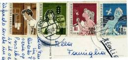 DC225-1960 AK Berlin 4 Marken Ferienplaetze Fuer Berliner Kind-Mi 193-194-195-196 - 1830-1849 (Belgique Indépendante)