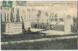 54 NANCY Expériences AVIATION Planeur Des ATELIERS VOSGIENS SAINT DIE 1909 - Nancy